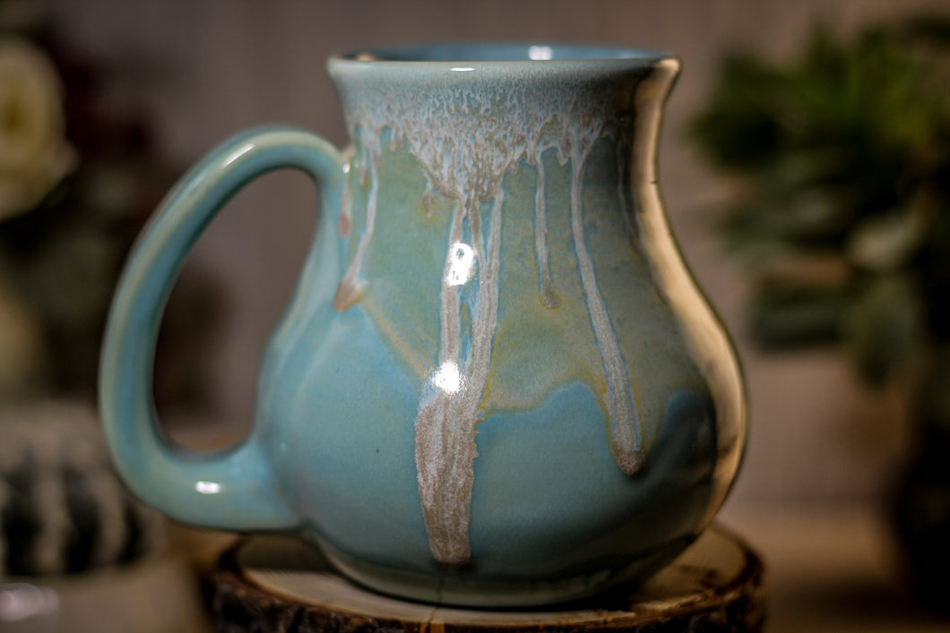 36-E Atlantean Jade Variation Flared Mug, 15 oz.