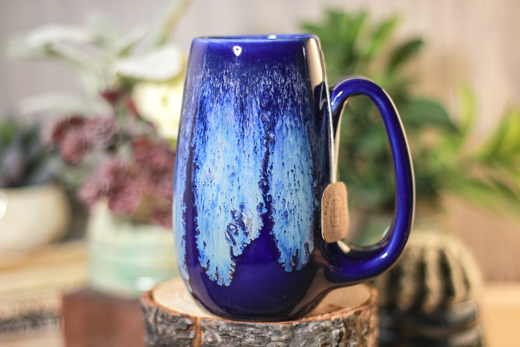 29-E Cobalt Tide Notched Mug, 15 oz.