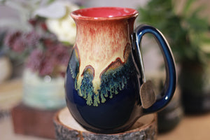 32-C Lava Falls Flared Notched Mug, 14 oz