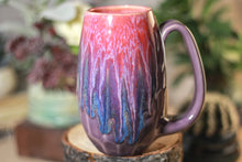 Load image into Gallery viewer, 36-C Flaming Phoenix Notched Crystal Mug - TOP SHELF, 14 OZ.