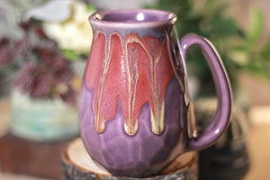 37-E Prototype Barely Flared Crystal Notched Mug - ODDBALL, 16 oz. - 15% off