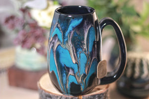42-E Teal Grotto Notched Mug - MISFIT, 15 oz - 15% off