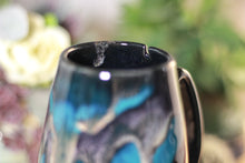 Load image into Gallery viewer, 43-E Teal Grotto Notched Mug - TOP SHELF, 15 oz