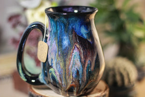 02-B Cosmic Grotto Flared Notched Mug - MISFIT, 15 oz. - 20% off