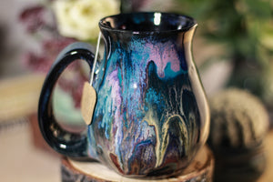 03-B Cosmic Grotto Flared Notched Mug - MISFIT, 14 oz. - 30% off