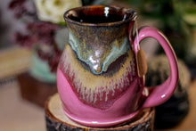 Load image into Gallery viewer, 07-B Copper Agate Notched Stein Mug, 14 oz.
