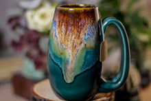 Load image into Gallery viewer, 12-C Molten Electric Falls Notched Mug, 12 oz.