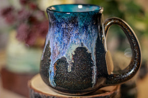 22-D Midnight Wave Barely Flared Notched Mug - ODDBALL, 12 oz. - 10% off