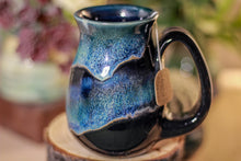 Load image into Gallery viewer, 25-E Boreal Aurora Barely Flared Notched Mug, 12 oz.