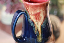 Load image into Gallery viewer, 28-C Lava Falls Barely Flared Notched Crystal Mug - TOP SHELF, 13 oz