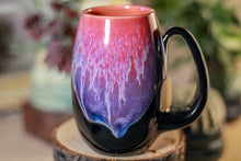 Load image into Gallery viewer, 37-B Flaming Phoenix Notched Mug - TOP SHELF MISFIT, 14 oz.
