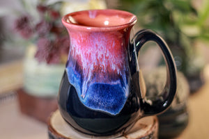 38-B Flaming Phoenix Flared  Notched Mug - TOP SHELF, 14 oz.