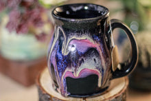Load image into Gallery viewer, 46-E Amethyst Grotto Barely Flared Notched Mug, 10 oz