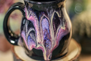 46-E Amethyst Grotto Barely Flared Notched Mug, 10 oz