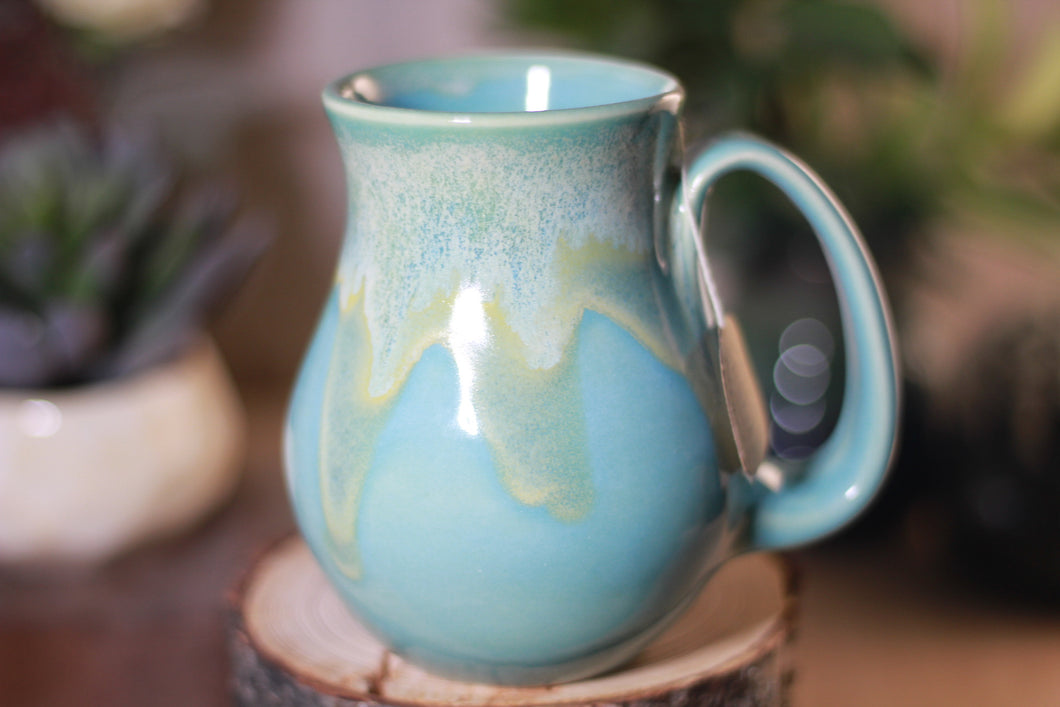 32-D Atlantean Jade Barely Flared Notched Mug - ODDBALL, 12 oz - 10% off