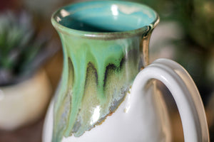 33-B Rainbow Agate Barely Flared Notched Mug - MISFIT, 14 oz. - 10% off