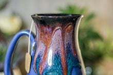 Load image into Gallery viewer, 42-B Purple Haze Flared Notched Crystal Mug, 15 oz.