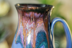 42-B Purple Haze Flared Notched Crystal Mug, 15 oz.