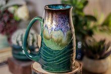 Load image into Gallery viewer, 02-C Electric Falls Barely Flared Notched Stein Mug, 16 oz.