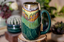 Load image into Gallery viewer, 16-A New Earth Notched Crystal Mug, 16 oz.