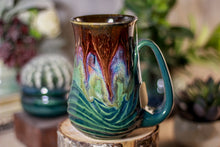 Load image into Gallery viewer, 20-C PROTOTYPE Barely Flared Notched Mug - TOP SHELF, 14 oz.
