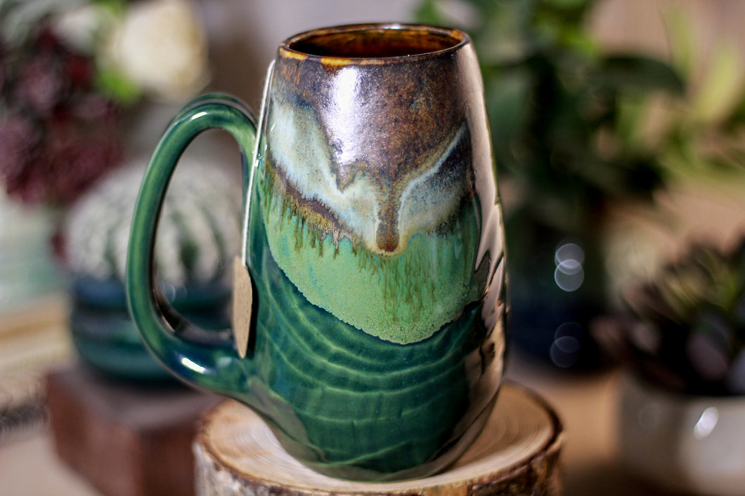 27-B Copper Agate Notched Mug - ODDBALL, 16 oz. - 10% off