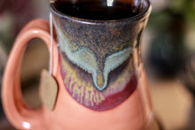 Load image into Gallery viewer, 29-B Copper Agate Flared Notched Mug - ODDBALL, 14 oz. - 10% off