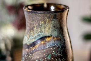 32-B Copper Agate Barely Flared Notched Stein Mug - MISFIT, 15 oz. - 15% off