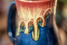 Load image into Gallery viewer, 38-C Lava Falls Barely Flared Notched Mug, 14 oz
