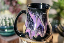 Load image into Gallery viewer, 43-E Amethyst Grotto Flared Notched Mug - TOP SHELF, 15 oz