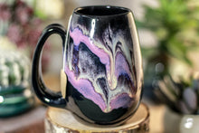 Load image into Gallery viewer, 44-E Amethyst Grotto Flared Notched Mug, 15 oz