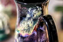 Load image into Gallery viewer, 45-C Cosmic Grotto Barely Flared Notched Mug - TOP SHELF, 14 oz