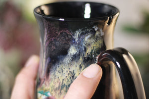 45-C Cosmic Grotto Barely Flared Notched Mug - TOP SHELF, 14 oz