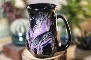 08-P Amethyst Grotto Barely Flared Notched Mug, 13 oz.