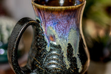 Load image into Gallery viewer, 09-D Electric Wave Barely Flared Notched Textured Mug, 15 oz