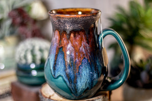 13-A PROTOTYPE Barely Flared Notched Textured Mug - ODDBALL, 17 oz. - 15% off