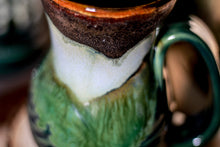 Load image into Gallery viewer, 14-B Copper Agate Barely Flared Notched Textured Mug - ODDBALL, 14 oz. - 20% off