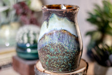 Load image into Gallery viewer, 16-B Copper Agate Barely Flared Notched Stein Mug - ODDBALL MISFIT, 17 oz. - 15% off