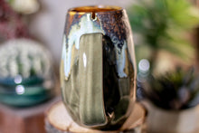 Load image into Gallery viewer, 18-B Copper Agate Notched Crystal Mug - ODDBALL, 12 oz. - 10% off