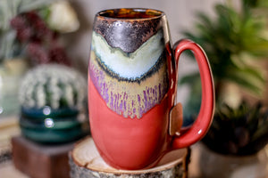 20-B Copper Agate Notched Mug - ODDBALL, 15 oz. - 10% off
