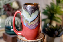 Load image into Gallery viewer, 20-B Copper Agate Notched Mug - ODDBALL, 15 oz. - 10% off