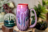 27-C Flaming Phoenix Notched Crystal Mug - ODDBALL, 14 oz. - 10% off