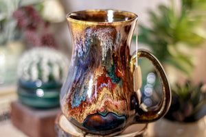 37-B Rainbow Grotto Flared Notched Mug - TOP SHELF, 17 oz