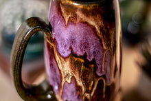 Load image into Gallery viewer, 38-E Molten Beauty Notched Crystal Mug, 17 oz.