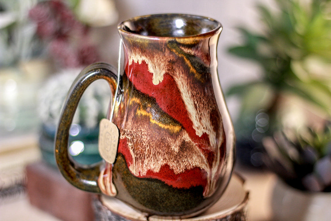 39-E Molten Bliss Barely Flared Notched Mug, 16 oz.