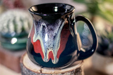 Load image into Gallery viewer, 41-F Molten Cavern Flared Notched Mug, 13 oz.