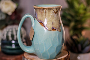 32-D Barely Flared Notched Crystal Mug, 12 oz.