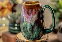 Load image into Gallery viewer, 09-C Electric Falls Notched Crystal Mug - ODDBALL, 17 oz - 10% off
