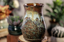 Load image into Gallery viewer, 17-B Copper Agate Barely Flared Notched Mug -  MISFIT, 17 oz. - 10% off