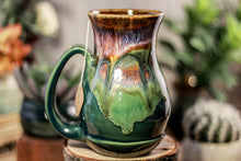 Load image into Gallery viewer, 24-A New Earth Barely Flared Notched Mug - TOP SHELF, 17 oz.
